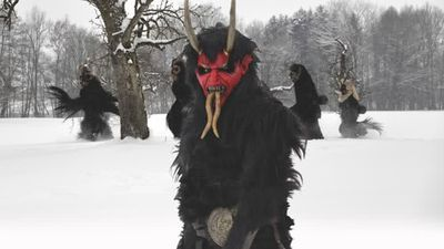 Greetings from Krampus Poster