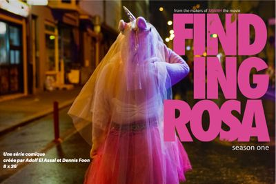 Finding Rosa Poster