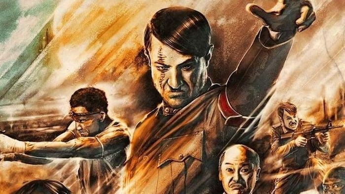 African Kung Fu Nazis Poster