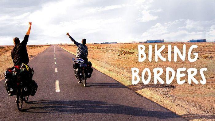 Biking Borders Poster