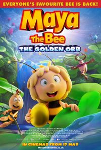 Maya the Bee 3: The Golden Orb Logo