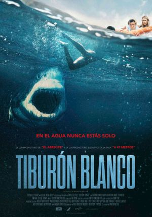 TIBURÓN BLANCO Poster