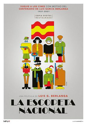 LA ESCOPETA NACIONAL Poster